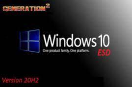 Windows 10 X64 10in1 20H2 ESD en-US NOV 2020 {Gen2}