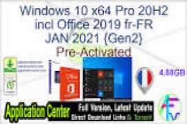 Windows 10 X64 Pro incl Office 2019 en-US JAN 2021 {Gen2}